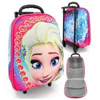 harga Tas Trolly Troli Trolley Mini 3d / 6 D Muka Frozen Tokopedia.com