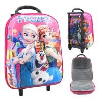 harga Tas Trolly Troli Trolley Mini 3d / 6 D Frozen Tokopedia.com