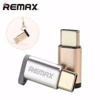 Remax Konektor Micro USB to Type C Adapter Converter RA-USB1
