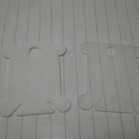 Bobbin plastik tempat menggulung benang sulam kristik cross stitch