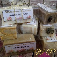 CUTTED SOAP-SAMPLE NATURAL SOAP-HANDMADE