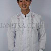 Baju Koko Pria Lengan Panjang-Desain Menarik-Bermerk