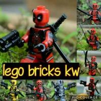 Jual LEGO MINIFIGURES Deadpool Marvel DC Superheroes super hero heroes anak Murah