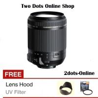 Tamron Lensa 18-200 mm VC Canon Nikon 18-200mm VC + Free Filter & Hood