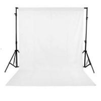 Background foto kain polos putih 2,7x3M