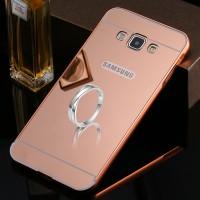Bumper MIRROR Case Samsung Galaxy E5 / E7 E500 E700 Casing HP Cover