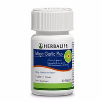 obat herbal alami Herbalife#shake#original Mega Garlic Plus asli