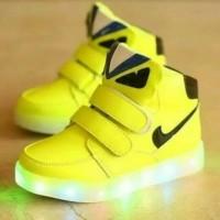 Jual sepatu anak led/sepatu anak nyala/sepatu anak fendi monster led Murah