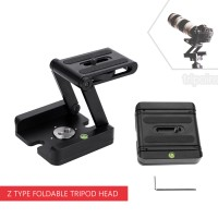 Z Type Foldable Tripod Head with Quick Release