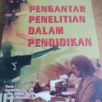 Buku Pengantar Penelitian dalam Pendidikan-Arief Furchan-PP