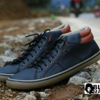 PROMO!!! Sepatu Black Master Geox Gaya Casual Pria Original