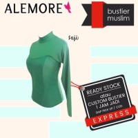 bustier hijab bahan polyester