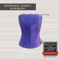 bustier tulang 8 bahan polyester warna warni