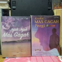 novel Ketika mas gagah pergi + Jejak jejak mas gagah/1 set 2 buku.