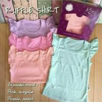 Jual Baju Baby KAZEL T-SHIRT RUFFLE GIRL ( 0 S/d 4 THN) Murah