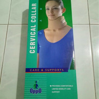 cervical collar penyangga leher lembut oppo 4091