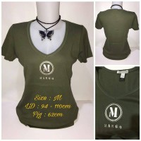 T-Shirt MNG Basic V-Neck