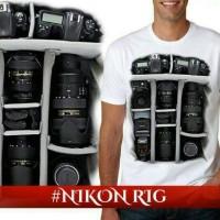 distributor kaos t shirt tshirt 3d kamera foto canon distro murah
