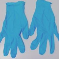 Sarung Tangan (Gloves) Karet Nitrile Eceran untuk Berkebun_Biru_S