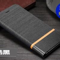 ZTE AXON 7 Flip Case PU+TPU Cover Inner Wallet Matte Canvas Stand