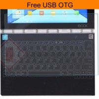 Lenovo Yoga Book 10.1 Inch Tempered Glass Anti Gores Kaca Keyboard