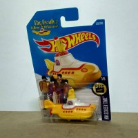 Jual Hotwheels The Beatles Yellow Submarine Murah