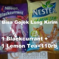 Paket Nestle Blackcurrant + Nestea Lemon Tea Promo Murah