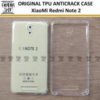 Case TPU Anti Crack XiaoMi Redmi Note 2 Anticrack Benturan Xiao Mi