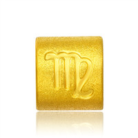 Tiaria 9K Yellow Gold Charm Bracelet Virgo Gelang Emas