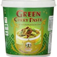 PANTAI THAI GREEN CURRY PASTE 400GR Bumbu Kari Hijau Thailand Import