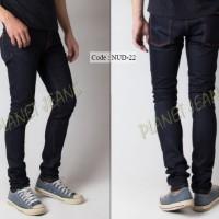 Celana Jeans / dry denim Nudie Model Skinny / Pensil Cowok - NUD22