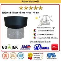 Lenshood Silicone universal 49mm - For Meike Lens 35mm/50mm/28mm