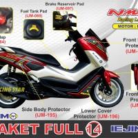 Jual AKSESORIS NMAX / PAKET HEMAT NMAX / BODY PROTECTOR NMAX / PAKET 6 Murah