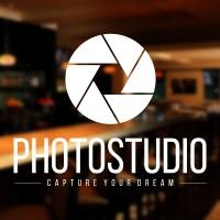 Cutting Sticker Photo Studio Foto Stiker Kaca Tembok Kamera Toko