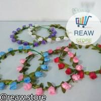 Mahkota Bunga Aneka Warna / Flower Crown