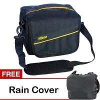 Jual Tas kamera DSLR murah / camera bag kode H NIKON free raincoat Murah