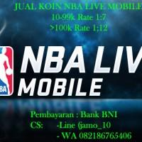 Jual Koin NBA Live Mobile