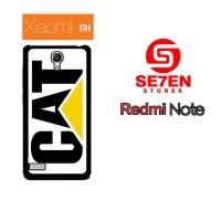 Casing HP Xiaomi Redmi Note 1 caterpillar logo Custom Hardcase Cover