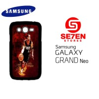 Casing HP Samsung Grand Neo allen iverson 76ers Custom Hardcase Cover