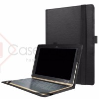 Premium Leather Flip Case Cover - Lenovo Yoga Book 10.1 Inch