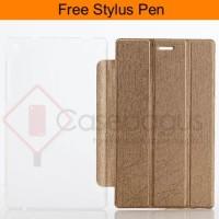 harga Ultra Slim Leather Flip Case Cover - Lenovo Tab 3 7' Essential 710i Tokopedia.com