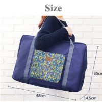 281 FOLDABLE TRAVEL BAG /HAND CARRY TAS LIPAT / FOLDING BOSTON BAG