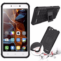 Lenovo Vibe K5 Plus/Lemon 3/K5 Soft Case KickStand Rugged Armor Casing