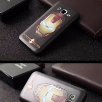 Case Samsung E7 2016/ A5 2015 Gundam Armor Silicon 3d Back Soft Casing