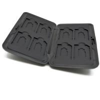 KOTAK BOX METAL TEMPAT PENYIMPANAN MICRO SD MEMORY CARD KAMERA HP