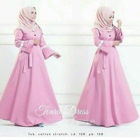 Fashion Wanita Tiara Long Dress