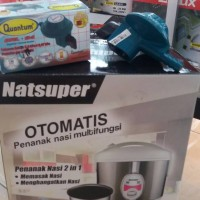 RICE COOKER NATIONAL SUPER + REGULATOR QUANTUM