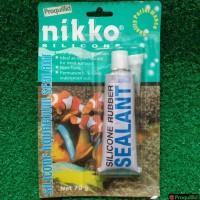 Silicone Rubber Sealant Perekat / Lem Silikon Kaca Aquarium 70 G nikko
