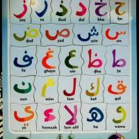 Puzzle Puzzel Puzle Kayu Huruf Arab Hijaiyah