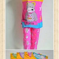 piyama baju tidur anak cewek wanita ORSETTO